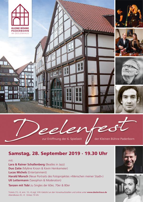 Plakat Deelenfest 2019