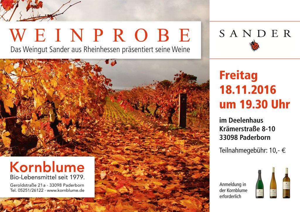 Anzeige Kornblume Paderborn