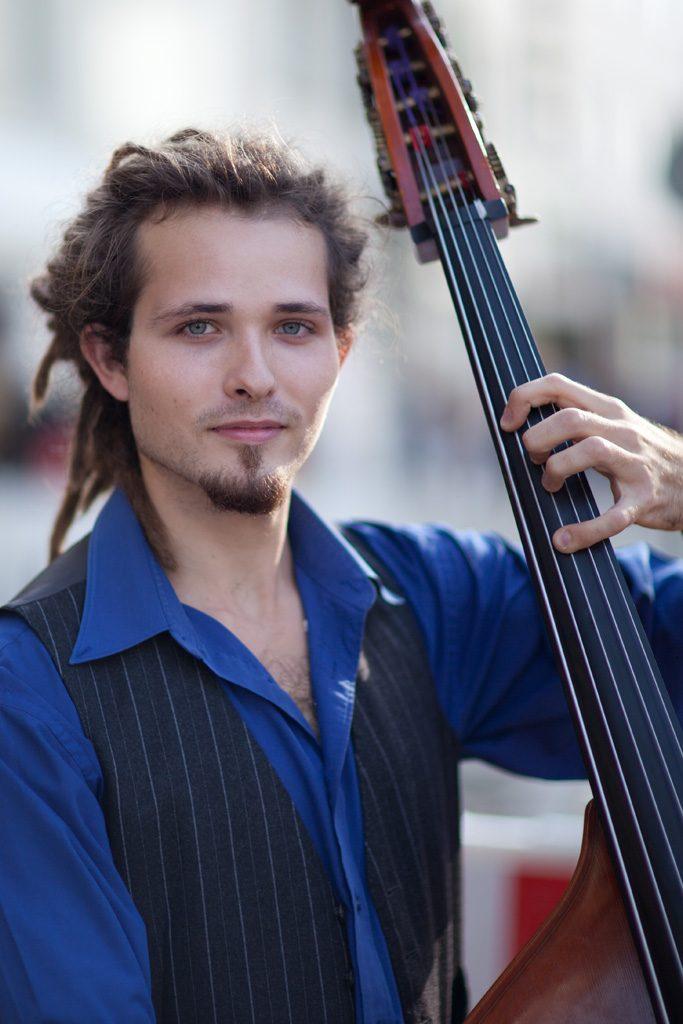 Straßenmusiker in Paderborn