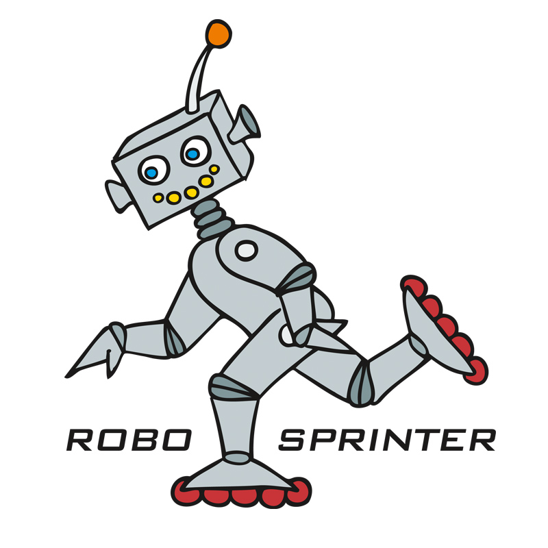 Logo für das Schüler*innenprojekt »RoboSprinter«