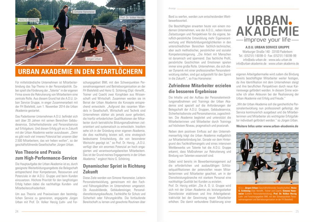 Advertorial Urban Akademie
