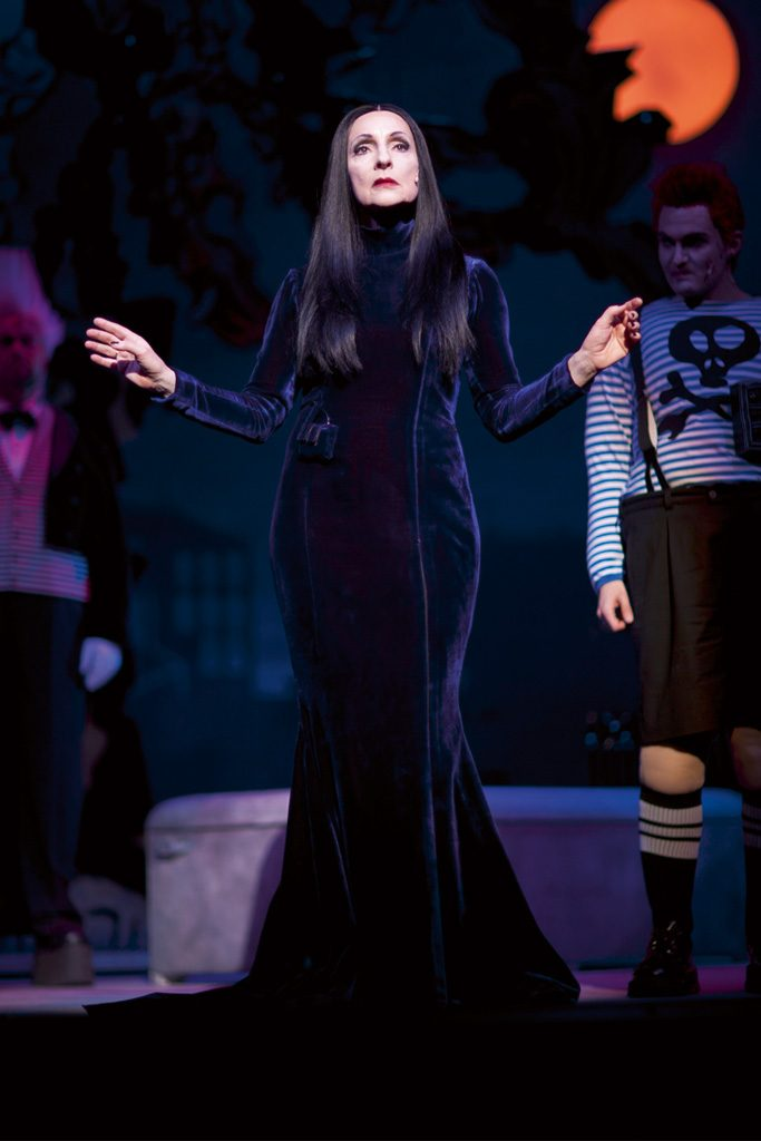 Szene aus »The Addams Family«, Landestheater Detmold
