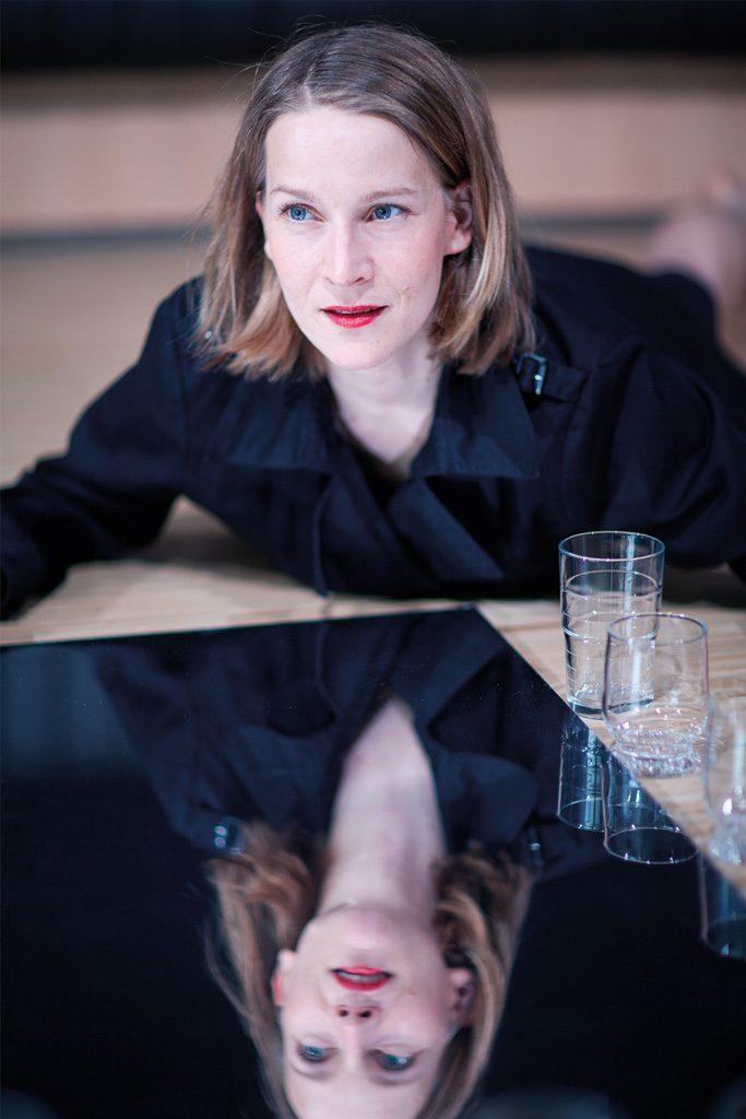 Szene aus »Fräulein Else«, Theater Paderborn