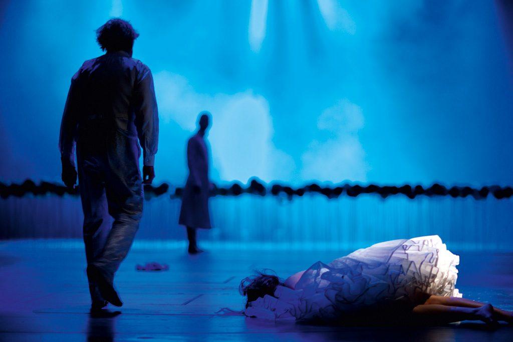 Szene aus »Faust«, Theater Paderborn