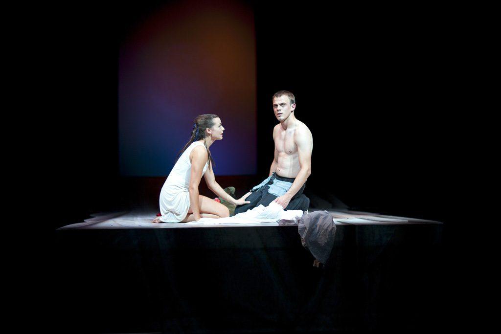 Szene aus »Romeo und Julia«, Theater Paderborn