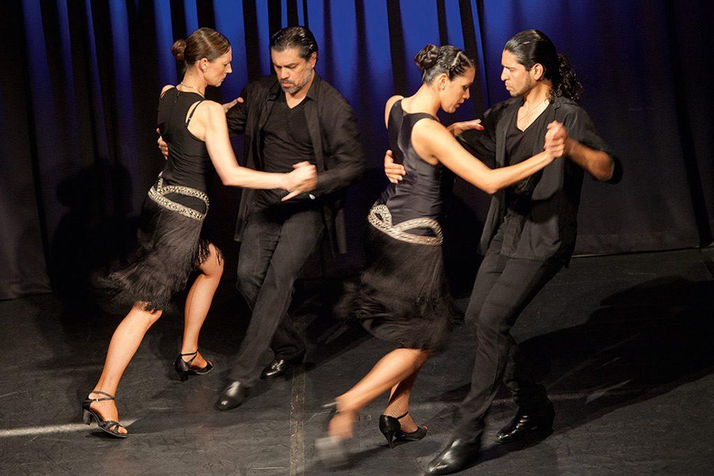 »Se dice de mi«, Tango-Performance