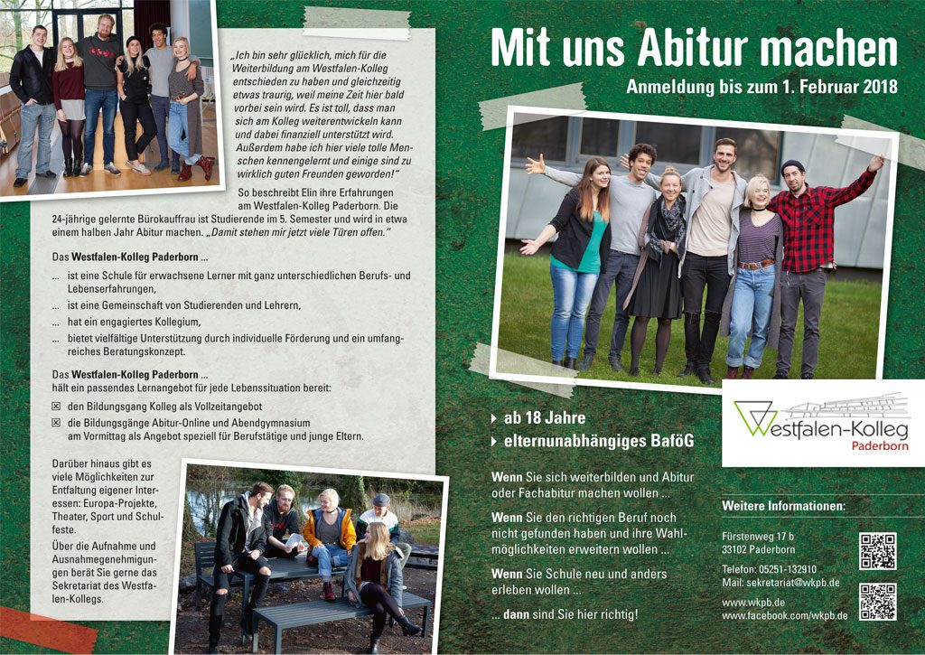 Advertorial Westfalen-Kolleg Paderborn